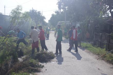 Kegiatan Gotong Royong Minggu Bersih